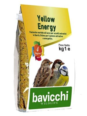 Pastoncino Yellow Energy 1 Kg Wildlife