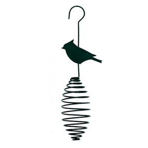Porta Mangime a Spirale per Uccelli Selvatici