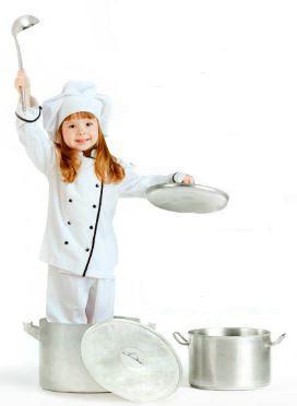 Trio Cucina Compatta (Lavello, Fornelli, Forno) Fiocco in Legno Naturale per Bambini di Dida