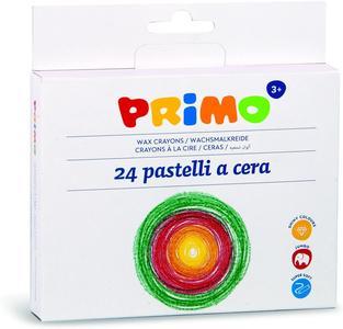 Primo 24 Pastelli a cera - CMP 052PC24MX - 3+ anni
