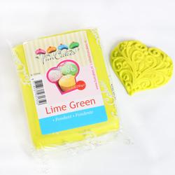 Pasta di zucchero FunCakes verde lime 250 gr