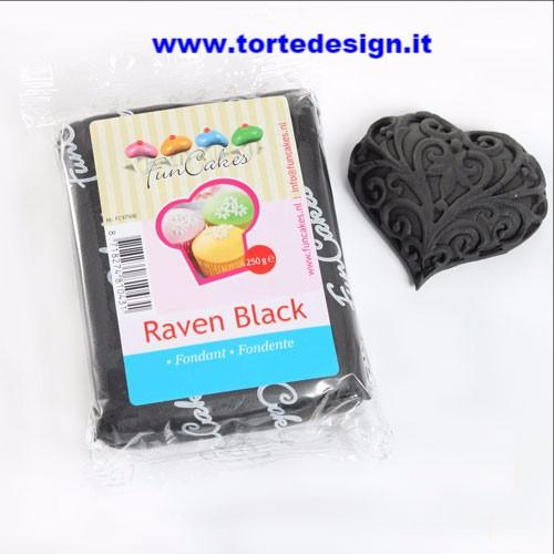 Pasta di zucchero FunCakes nera 250 gr
