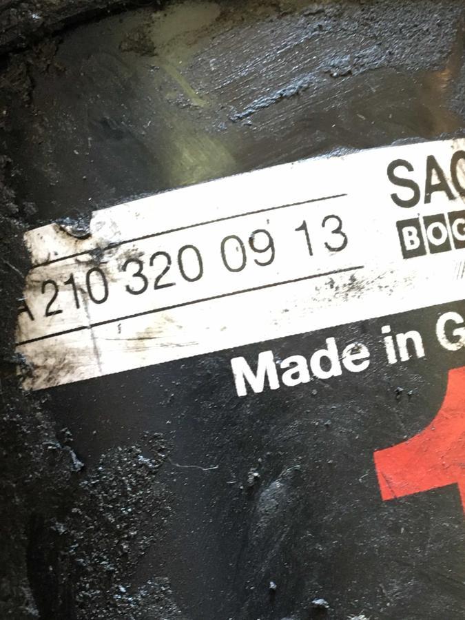 Ammortizzatore Posteriore Sachs con regolazione del livello a olio Mercedes W210  - A2103200913 012400102400