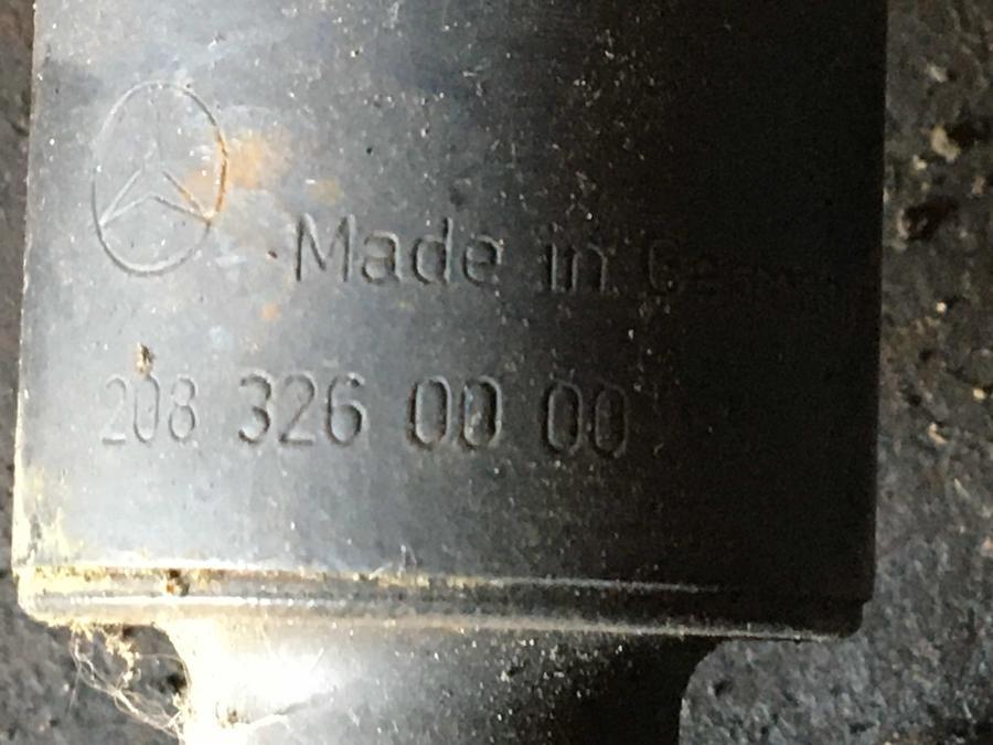 Ammortizzatore Posteriore Mercedes W208-CLK  - 2083260000