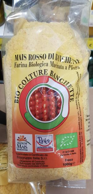 Farina da Polenta di Mais Pignoletto Rosso 1 Kg