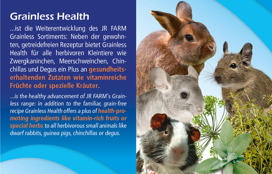 JR Grainless Health Mix Dwarf Rabbit