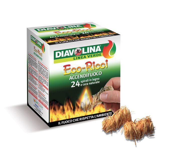 Daviolina Accendifuoco Eco Ricci Confezione da 24 pz