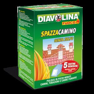 Diavolina Spazzacamino Confezione da 5 buste x 50 gr