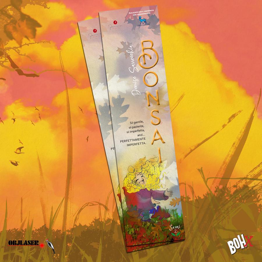 Segnalibro Bonsai in cartoncino