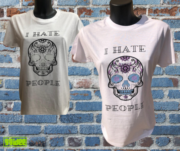 T-shirt I Hate People