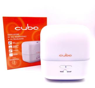 CUBO Diffusore Di Olii Essenziali a Ultrasuoni con lampada Cromoterapia