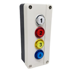 Pulsantiera con 4 pulsanti con LED