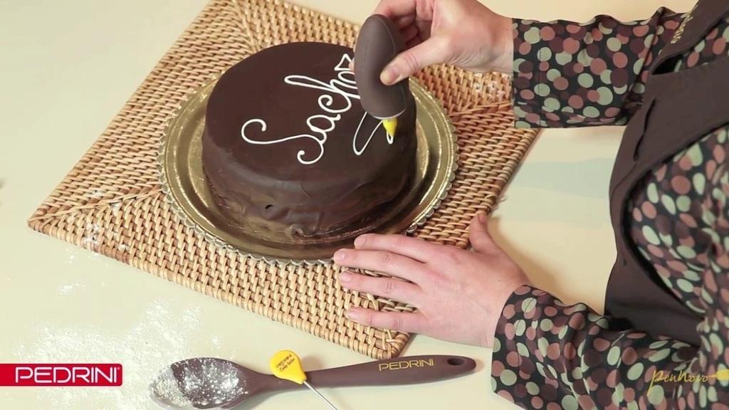Set decorazione Pedrini per il cake design set dolce cup cakes pz 4 W1433