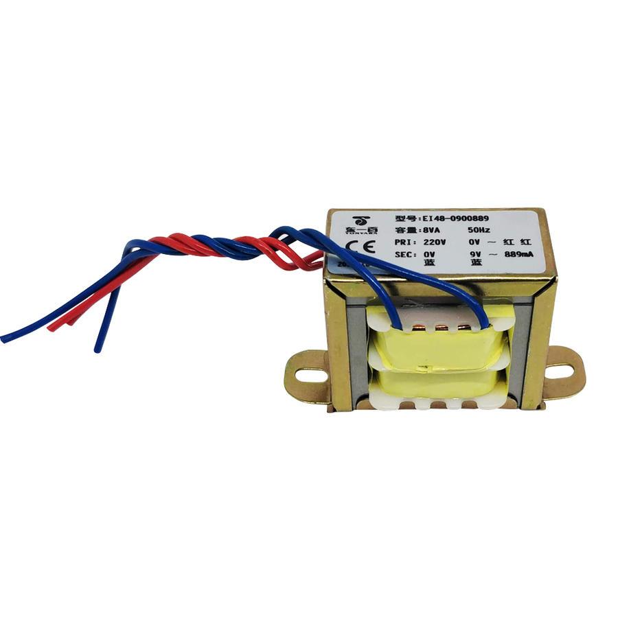 Trasformatore 220/9Vac - 889mA - 8VA