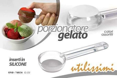 Cucchiaio per gelato porzionatore paletta dosa palline gelato silicone Bar Casa