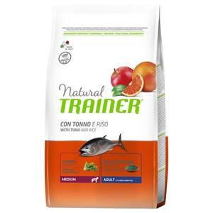 Natural Trainer Adult Medium Tonno 12 KG Croccantini Per Cani Adulti