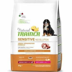 Natural Trainer Sensitive Medium Maxi Puppy Anatra 12 KG Croccantini Per Cani