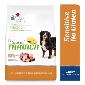 Natural Traine Sensitive Medium Maxi Adult Anatra 12 KG Croccantini Per Cani