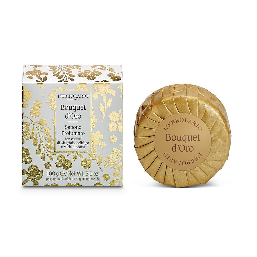 L'Erbolario - Bouquet d'Oro Sapone profumato