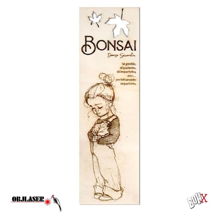 Segnalibro Bonsai 2 in legno