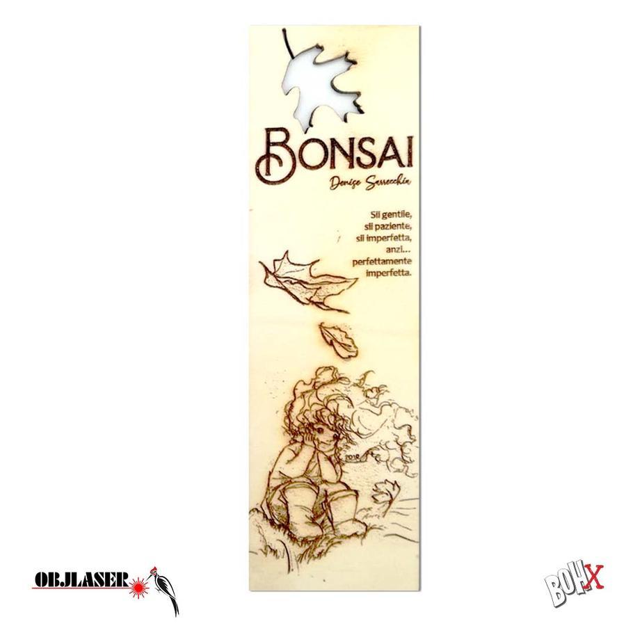 Segnalibro Bonsai 1 in legno