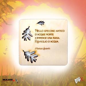Sottobicchiere Bonsai Haiku 4