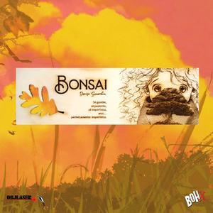 Segnalibro Bonsai 3 in legno