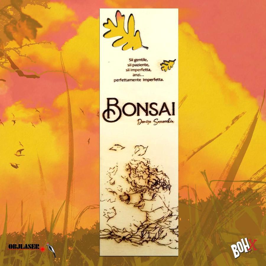 Segnalibro Bonsai 5 in legno