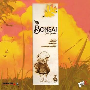 Segnalibro Bonsai 4 in legno