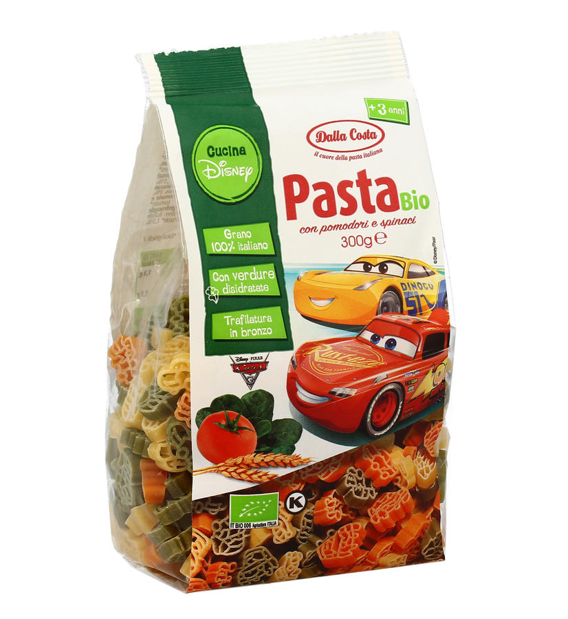 Pasta Disney Cars, Dalla Costa,  300 gr.
