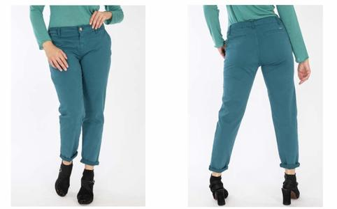 MORE pantalone chinos colorato