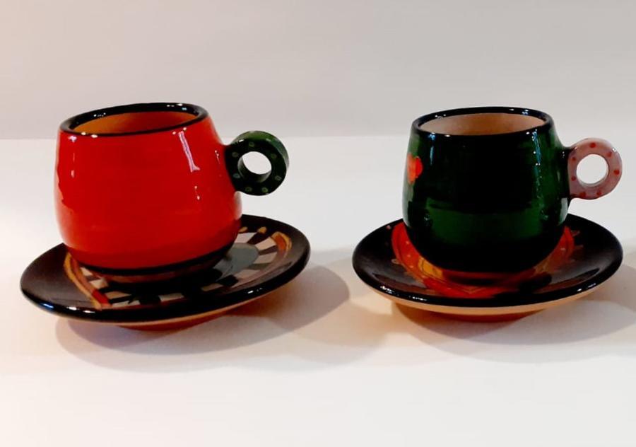 """Servizio da Caffè """"Gatti Innamorati"""" de Il Mondo Magico"""