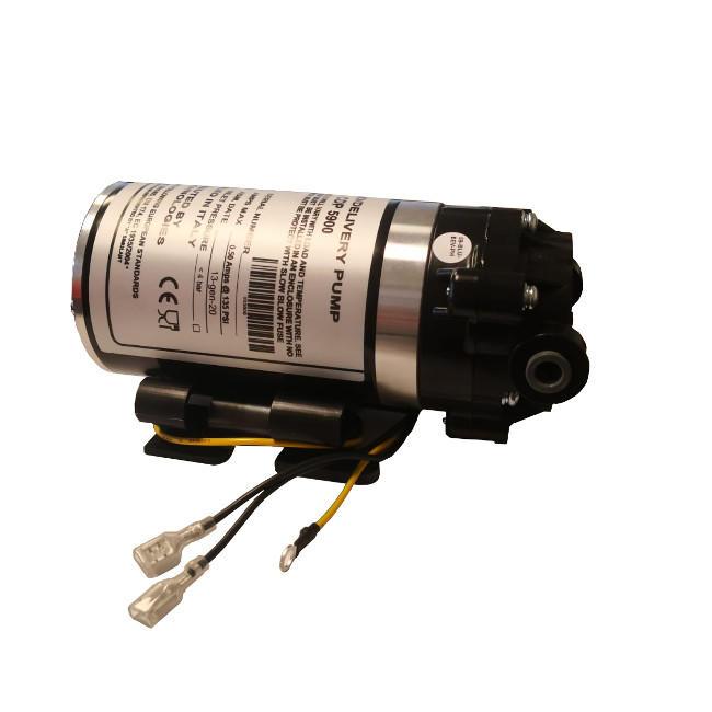 Pompa Booster Aquatech DDP5900 24 VOLT a membrana con attacchi a innesto rapido 8 mm.