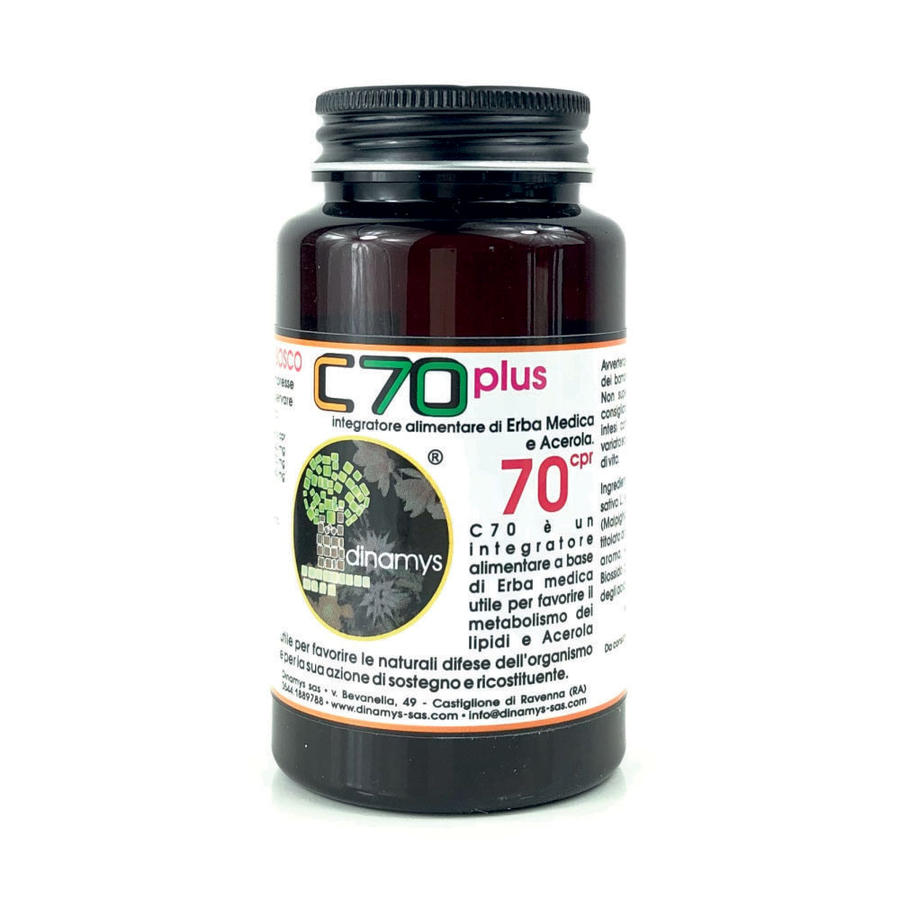 Dinamys C70 - Vitamina C - 70 cpr.
