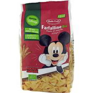 Farfalline Pasta Mickey Mouse, Dalla Costa, 300 gr