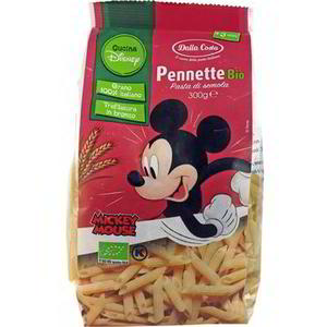Pennette Pasta Mickey Mouse, Dalla Costa, 300 gr