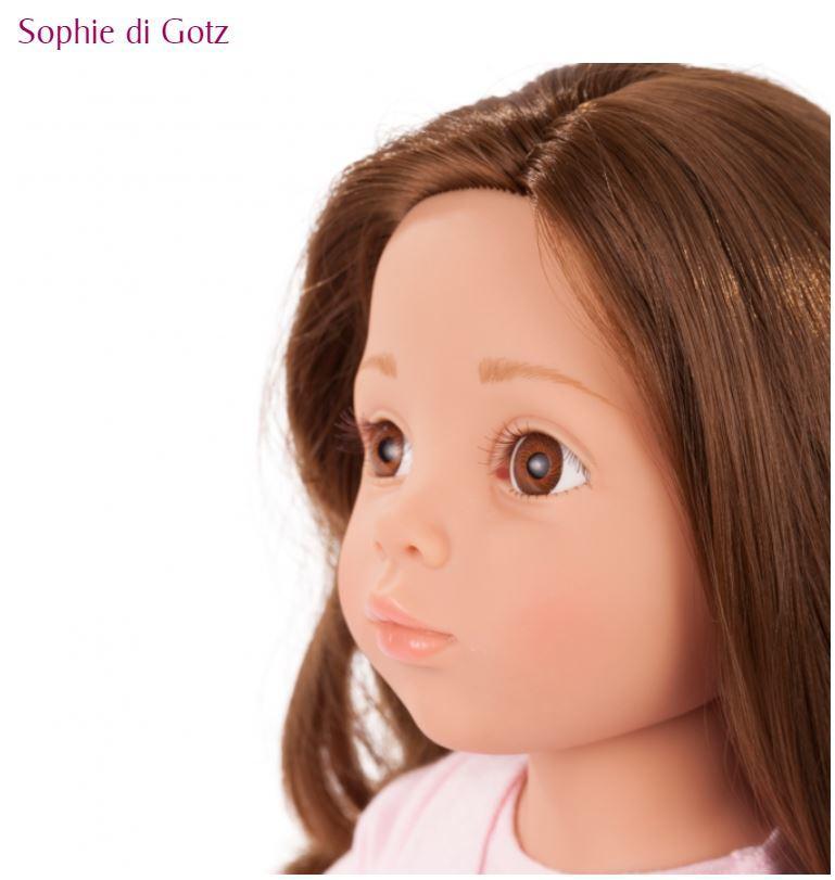 Bambola in Vinile Sophie con i Piedi Snodati Originale di Gotz in Edizione Numerata Limitata qualità Made in Germany