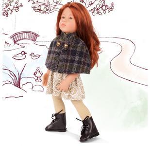 Bambola in Vinile Katharina Originale di Gotz in Edizione Numerata Limitata qualità Made in Germany