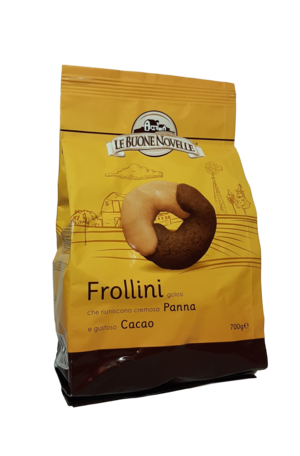 LE BUONE NOVELLE Frollini Panna e Cacao