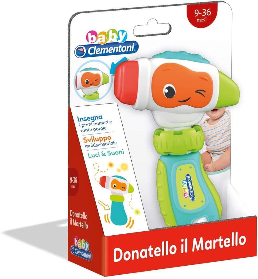 Donatello Il Martello - Giocattolo parlante - Clementoni 17327 - 9 +mesi