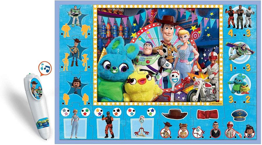 Tappeto Puzzle gigante interattivo Disney Toy Story - Clementoni 16234 - 3+ anni