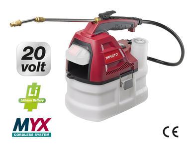 Nebulizzatore igenizzatore sanificatore a batteria  LITIO CSP 3.5 20 L YAMATO cod 81066