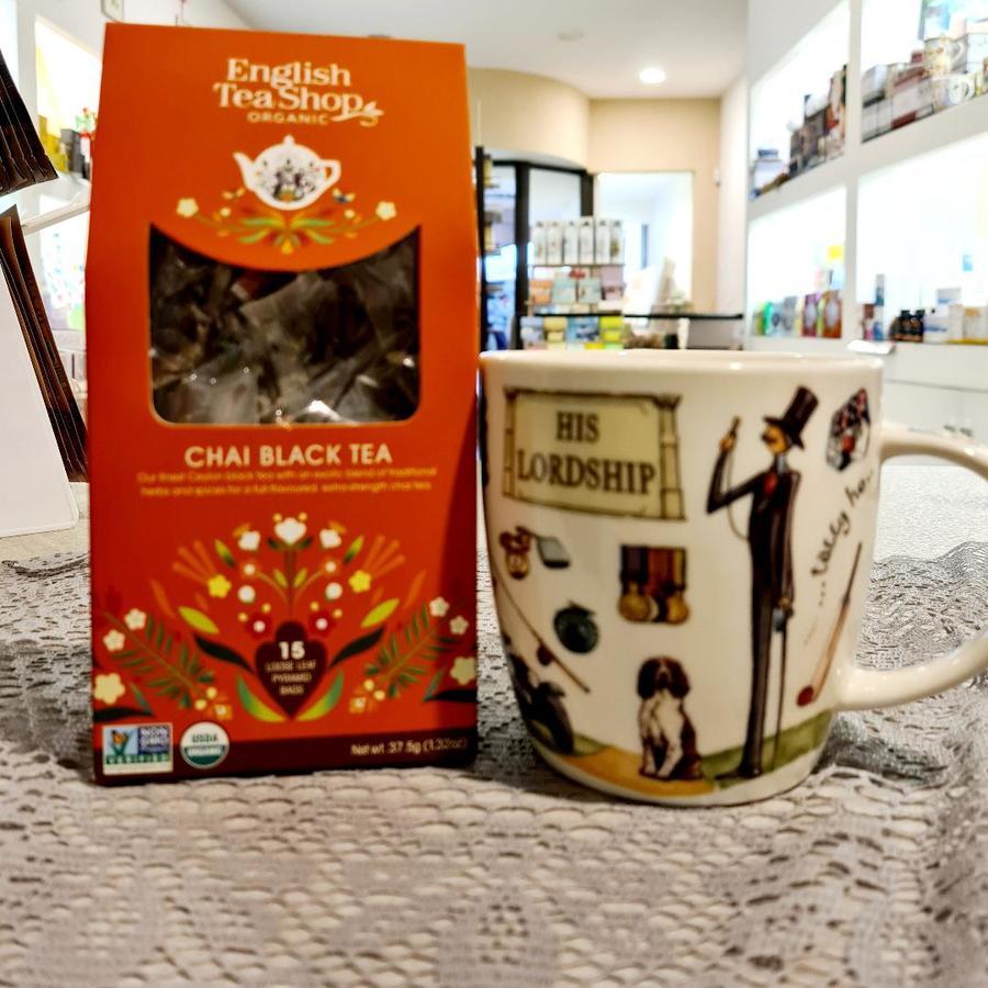CHAI BLACK TEA English Tea Shop organic
