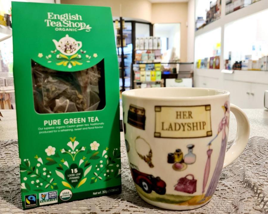 PURE GREEN TEA English Tea Shop organic