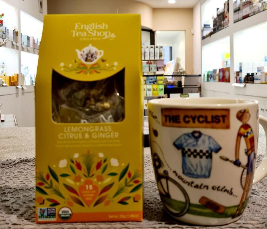 LEMONGRASS CITRUS & GINGER English Tea Shop organic