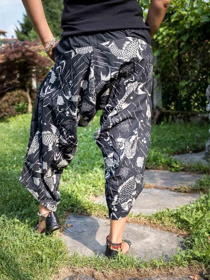 Pantalone donna 3/4 Gunjita - giappone