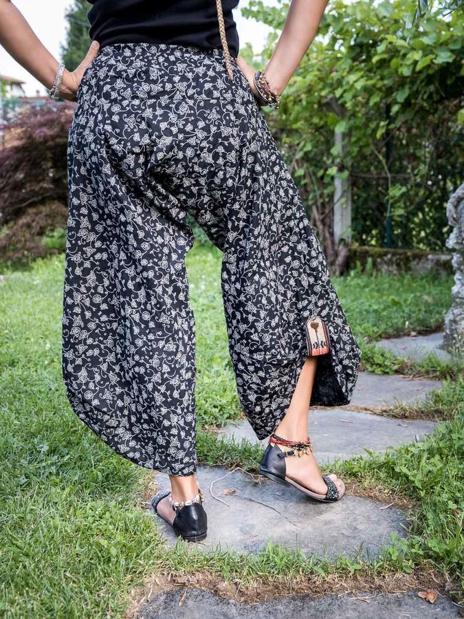 Pantalone donna 3/4 Roshan - rose