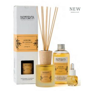Nasoterapia - Agrumi di Sicilia Essenza aromatica per diffusori