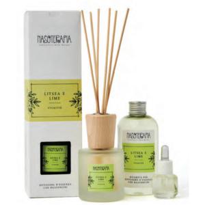 Nasoterapia - Litsea e Lime Essenza aromatica per diffusori
