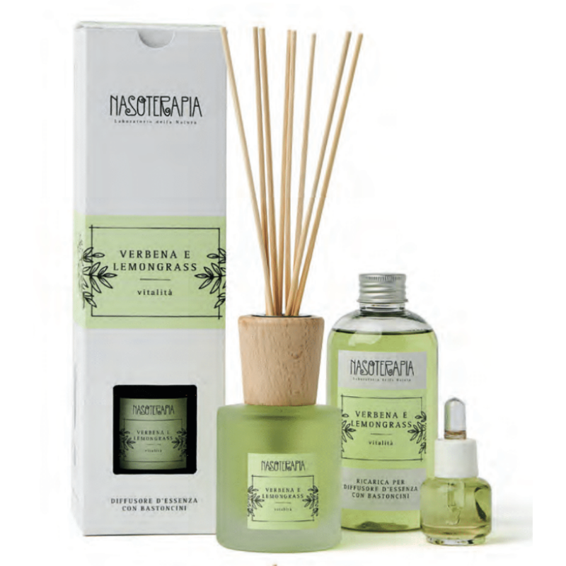 Nasoterapia - Verbena e Lemongrass Essenza aromatica per diffusori